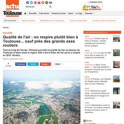 Qualité de l'air : on respire plutôt bien à Toulouse... sauf près des grands axes routiers