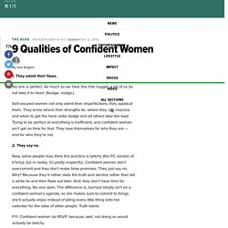 9 Qualities of Confident Women