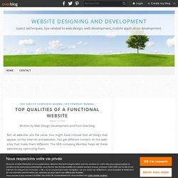 Top Qualities of a Functional Website