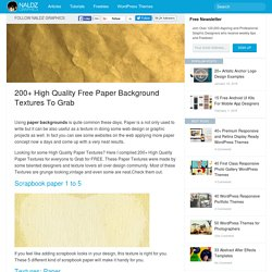 200+ High Quality Free Paper Background Textures to Grab