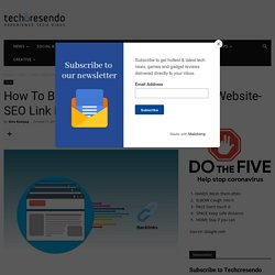 How to Build High Quality Backlink: Create Backlinks Free for Website
