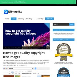 How to get quality copyright free images
