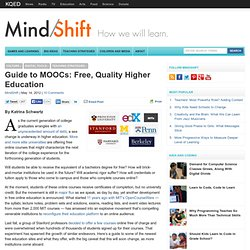 Guide to Free, Quality Higher Education