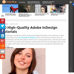 40 High-Quality InDesign Tutorials - Web Design Blog – DesignM.ag