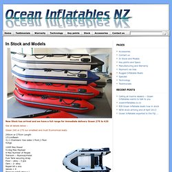 Low cost high quality Inflatable boats in stock and ready to go