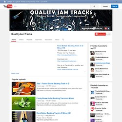 QualityJamTracks's Channel