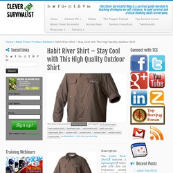 Habit River Shirt - Stay Cool with This High Quality Outdoor Shirt