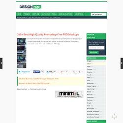 345+ Best High Quality Photoshop Free PSD Mockups « Designrazzi