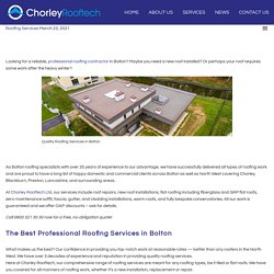 Quality Roofing Services in Bolton That Will Beat Any Others in Quality and Price