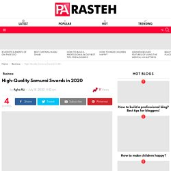 High-Quality Samurai Swords In 2020 Available For Sale