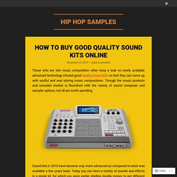 How to Buy Good Quality Sound Kits Online