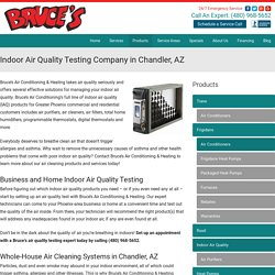 Indoor Air Quality Testing Service In Chandler - Bruce's AC