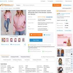 High Quality Custom Bomber Jacket Wholesale Satin Pink Bomber Jackets For Women - Buy Custom Bomber Jackets,Satin Bomber Jacket,Bomber Jacket Wholesale Product on Alibaba.com