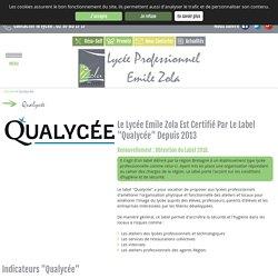 Label Qualyc e - Lyc e Emile Zola - Hennebont - Morbihan