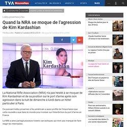Quand la NRA se moque de l'agression de Kim Kardashian
