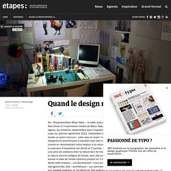 Galerie / Quand le design repense la nature