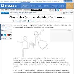 Quand les femmes décident le divorce
