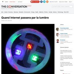 Quand Internet passera par la lumière