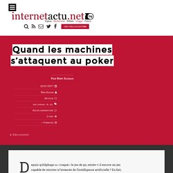Quand les machines s'attaquent au poker