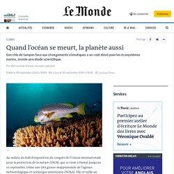 Quand l'océan se meurt, la planète aussi