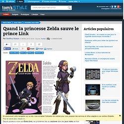 Quand la princesse Zelda sauve le prince Link