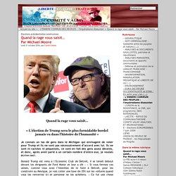 Quand la rage vous saisit…les Larage, les Sansdents vont voter Trump pour faire péter le système - Par Michael Moore