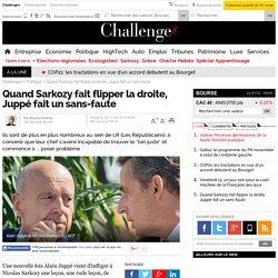 Quand Sarkozy fait flipper la droite, Juppé fait un sans-faute