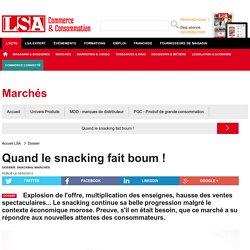 Quand le snacking fait boum ! - Dossiers LSA Conso