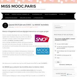 Quand SNCF fait son COOC : Le MOOC incivilités