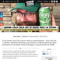 « Quand Coca-Cola Life se sucre avec la stevia »