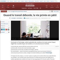 Vie de bureau : Quand le travail déborde, la vie privée en pâtit