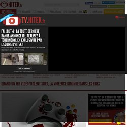 Quand un jeu vidéo violent sort, la violence diminue dans les rues