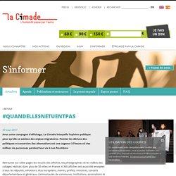 #QuandEllesNeTuentPas - La Cimade