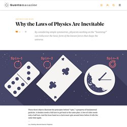 How Simple Rules 'Bootstrap' the Laws of Physics