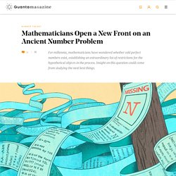 Mathematicians Open a New Front on an Ancient Number Problem