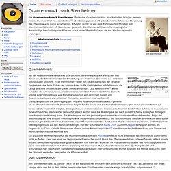 Quantenmusik nach Sternheimer – Psiram