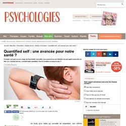 Quantified self : une avancée pour notre santé