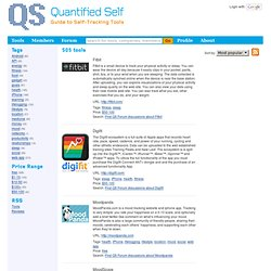 Tools | Quantified Self Guide
