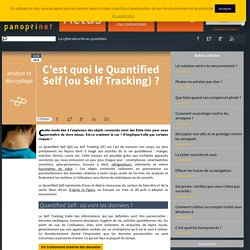C'est quoi le Quantified Self (ou Self Tracking) ?