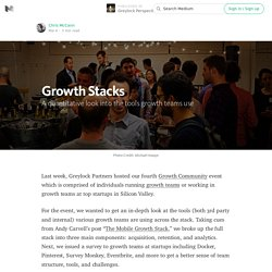 Growth Stacks — A quantitative look into the tools growth teams use — Greylock Perspectives
