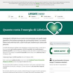 Quanto costa l'energia di LifeGate