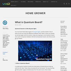 What is Quantum Board? – ViparSpectra