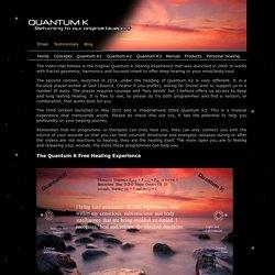 Quantum K - Free Healing Experience