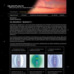 Quantum K - Products