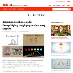 Quantum mechanics 101: Demystifying tough physics in 4 easy lessons