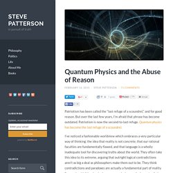 Quantum Physics and the Abuse of Reason