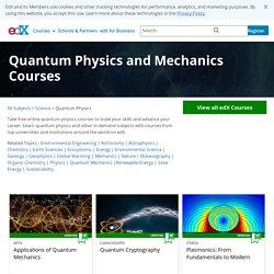 Quantum Physics and Mechanics