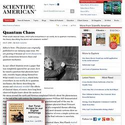 Quantum Chaos
