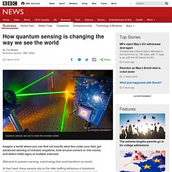 How quantum sensing is changing the way we see the world