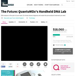 The Future: QuantuMDx's Handheld DNA Lab